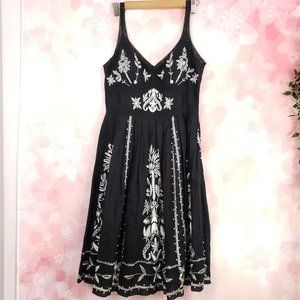 Sue Wong Embroidered Floral Sweetheart Dress 12